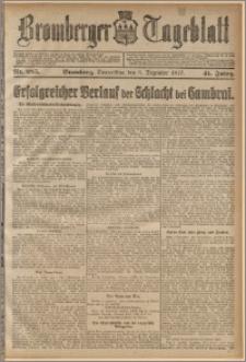 Bromberger Tageblatt. J. 41, 1917, nr 285