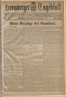 Bromberger Tageblatt. J. 41, 1917, nr 288