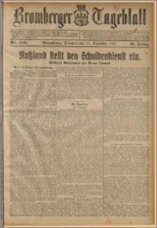 Bromberger Tageblatt. J. 41, 1917, nr 289