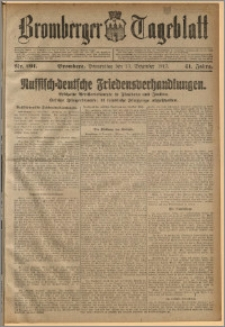 Bromberger Tageblatt. J. 41, 1917, nr 291