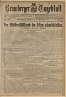 Bromberger Tageblatt. J. 41, 1917, nr 295