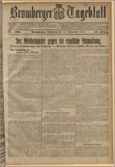Bromberger Tageblatt. J. 41, 1917, nr 296