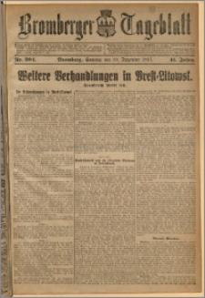 Bromberger Tageblatt. J. 41, 1917, nr 304