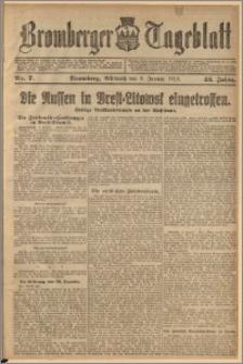 Bromberger Tageblatt. J. 42, 1918, nr 7
