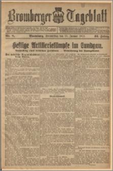 Bromberger Tageblatt. J. 42, 1918, nr 8