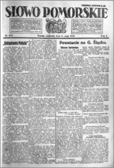 Słowo Pomorskie 1921.05.08 R.1 nr 103