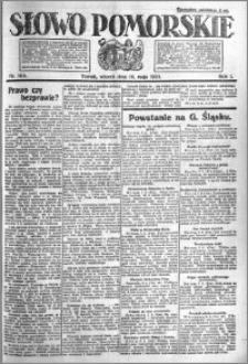 Słowo Pomorskie 1921.05.10 R.1 nr 104