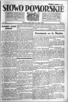 Słowo Pomorskie 1921.05.13 R.1 nr 107