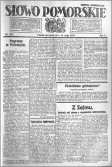 Słowo Pomorskie 1921.05.15 R.1 nr 109