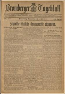 Bromberger Tageblatt. J. 42, 1918, nr 154