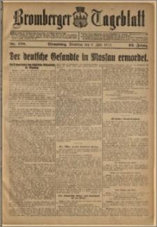 Bromberger Tageblatt. J. 42, 1918, nr 158