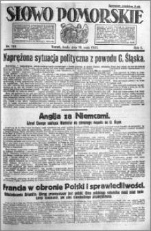 Słowo Pomorskie 1921.05.18 R.1 nr 110
