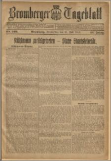 Bromberger Tageblatt. J. 42, 1918, nr 160