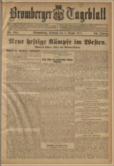 Bromberger Tageblatt. J. 42, 1918, nr 181