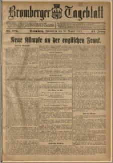 Bromberger Tageblatt. J. 42, 1918, nr 186