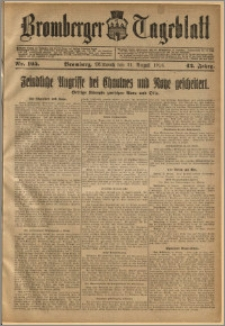 Bromberger Tageblatt. J. 42, 1918, nr 195