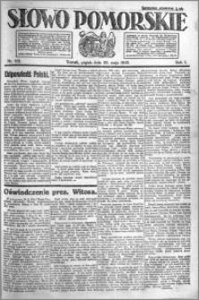 Słowo Pomorskie 1921.05.20 R.1 nr 112