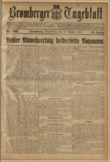 Bromberger Tageblatt. J. 42, 1918, nr 202