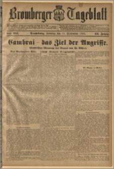Bromberger Tageblatt. J. 42, 1918, nr 217