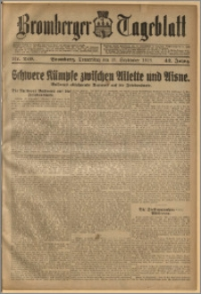 Bromberger Tageblatt. J. 42, 1918, nr 220