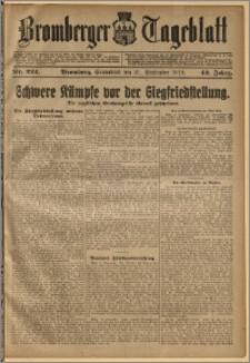 Bromberger Tageblatt. J. 42, 1918, nr 222