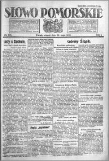 Słowo Pomorskie 1921.05.24 R.1 nr 115