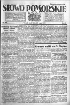 Słowo Pomorskie 1921.05.25 R.1 nr 116