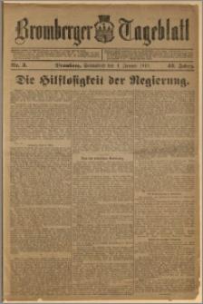 Bromberger Tageblatt. J. 43, 1919, nr 3