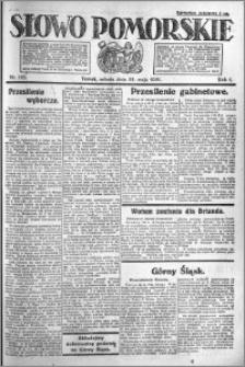Słowo Pomorskie 1921.05.28 R.1 nr 118
