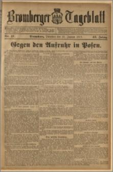 Bromberger Tageblatt. J. 43, 1919, nr 17
