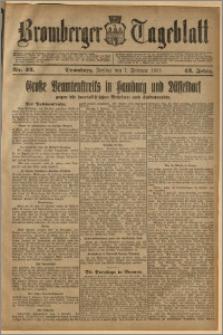 Bromberger Tageblatt. J. 43, 1919, nr 32