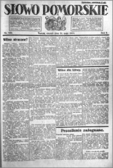 Słowo Pomorskie 1921.05.31 R.1 nr 120