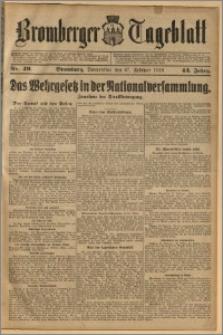 Bromberger Tageblatt. J. 43, 1919, nr 49