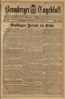 Bromberger Tageblatt. J. 43, 1919, nr 73