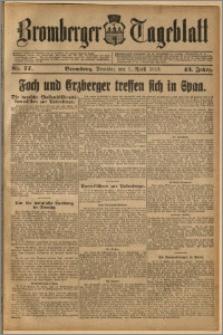 Bromberger Tageblatt. J. 43, 1919, nr 77