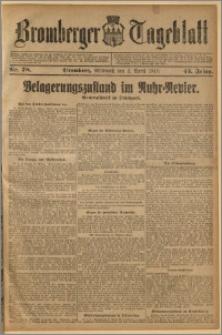 Bromberger Tageblatt. J. 43, 1919, nr 78