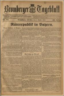 Bromberger Tageblatt. J. 43, 1919, nr 83