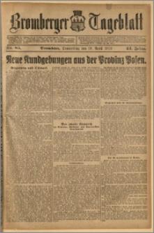 Bromberger Tageblatt. J. 43, 1919, nr 85
