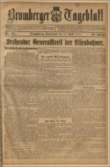 Bromberger Tageblatt. J. 43, 1919, nr 87