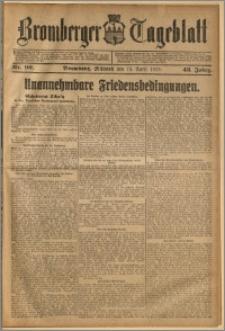 Bromberger Tageblatt. J. 43, 1919, nr 90
