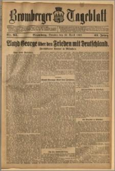 Bromberger Tageblatt. J. 43, 1919, nr 93