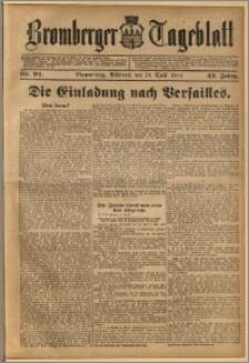 Bromberger Tageblatt. J. 43, 1919, nr 94