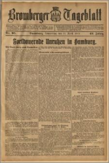 Bromberger Tageblatt. J. 43, 1919, nr 95