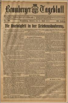Bromberger Tageblatt. J. 43, 1919, nr 98