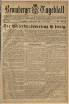Bromberger Tageblatt. J. 43, 1919, nr 101