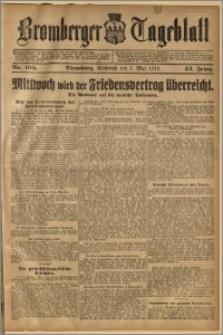 Bromberger Tageblatt. J. 43, 1919, nr 105