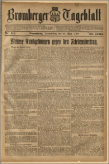 Bromberger Tageblatt. J. 43, 1919, nr 112
