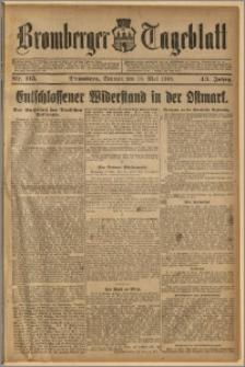 Bromberger Tageblatt. J. 43, 1919, nr 115
