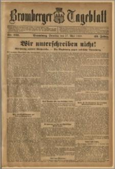 Bromberger Tageblatt. J. 43, 1919, nr 122