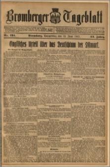 Bromberger Tageblatt. J. 43, 1919, nr 134